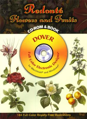 redoute-flowers-fruits-cd-rom-book