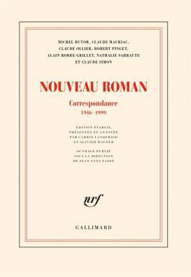 nouveau-roman-correspondance-1946-1999