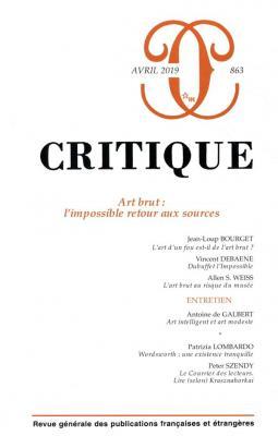 revue-critique-n°-863-art-brut-l-impossible-retour-aux-sources