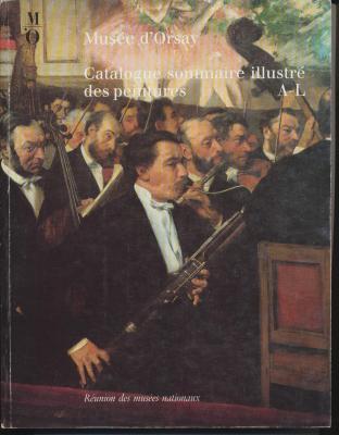 musEe-d-orsay-catalogue-sommaire-illustrE-des-peintures-vol-1-a-l-vol-2-m-z
