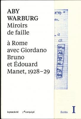 miroirs-de-faille-À-rome-avec-giordano-bruno-et-Edouard-manet-1928-29