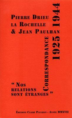 correspondance-1925-1944-nos-relations-sont-etranges-